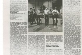 New York Times Sunday Book Review of Rocks Off