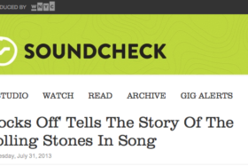 Soundcheck Interview About Rocks Off