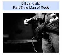 PART TIME MAN OF ROCK